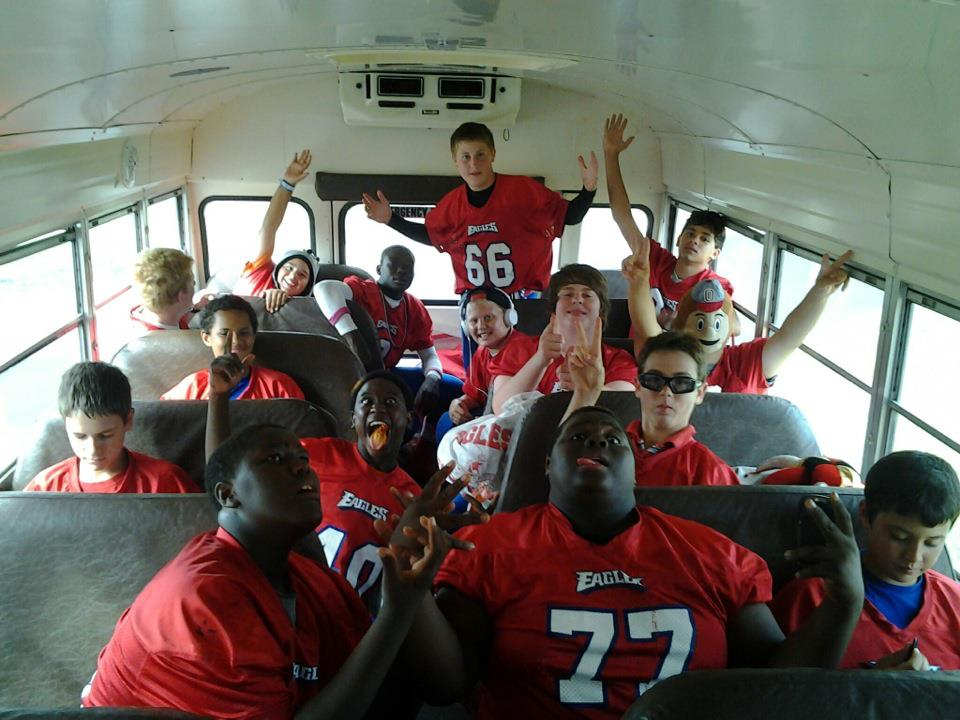 Sebastian Middle School Eagles Football team, Austin Reed football