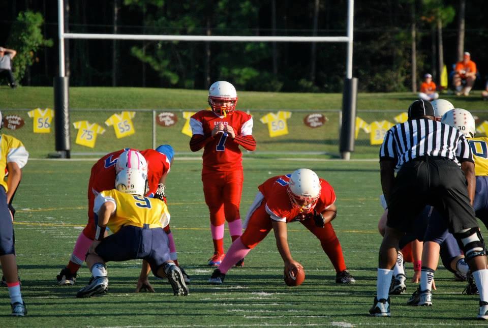 Austin Reed football, austin reed, sebastian Middle school eagles football, fruit cove middle school flyers, youth quarterback, great youth florida quarterback, sjmsaa all star