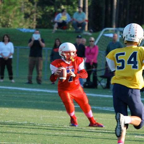 quarterback Austin Reed, St. Augustine Quarterback, great passing quarterback, austin reed football, sebastian Middle school eagles football