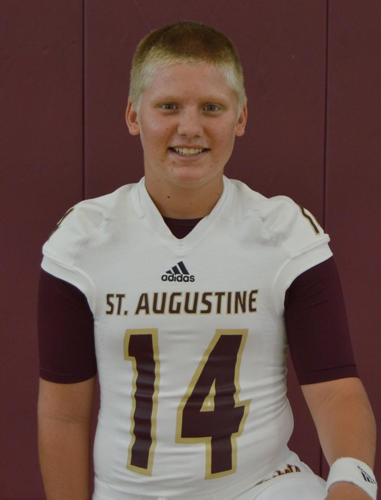 SAHS quarterback, st. augustine High school quarterback, st. augusitne High school football, quarterback austin reed, elite 11 quarterback, Cole Northrup, Jackets quarterback, High school quarterback