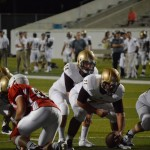 austin reed, austin reed football, cole northrup, quarterback austin reed, sahs jackets, st. augustine high school jackets football, st. augustine High school yellow jackets