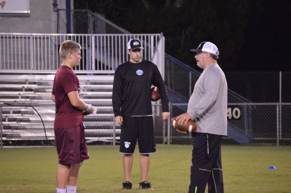 quarterback austin reed, austin reed football, john brantley III, Brantley Quarterback Camp, SAHS Jackets, SAHS football, St. augustine High School Jackets, St. Augustine High School Yellow Jackets, St. Augustine High School football