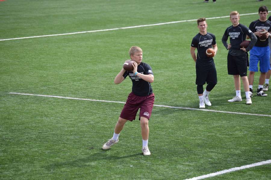 Austin Reed football, debartolo academy, Tampa QB challenge, SAHS jackets football, St. Augustine High School, St. Augustine High School football, elite 11 quarterback