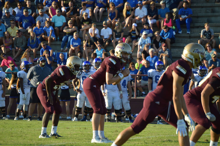 Quarterback Austin Reed, Austin Reed football, St. Augustine High School football, St. Augustine High School Yellow Jackets, SAHS Jacket football, SAHS Jackets, Pedro Menendez High School Football, Pedro Menendez Falcons