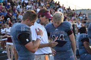 Quarterback Austin Reed, Austin Reed football, St. Augustine High School football, St. Augustine High School Yellow Jackets, SAHS Jacket football, SAHS Jackets