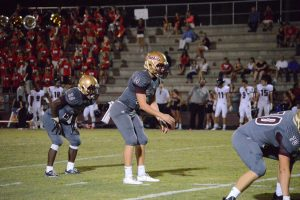 Quarterback Austin Reed, Austin Reed football, St. Augustine High School football, St. Augustine High School Yellow Jackets, SAHS Jacket football, SAHS Jackets, Creekside High School Football, Creekside Knights