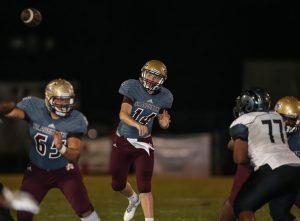 Quarterback Austin Reed, Austin Reed football, St. Augustine High School football, St. Augustine High School Yellow Jackets, SAHS Jacket football, SAHS Jackets, Englewood High School Football, Englewood Rams