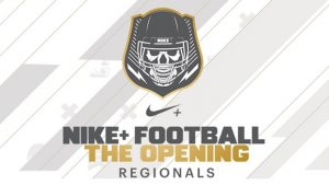 Nike Football The Opening Regional Camps, Quarterback Austin Reed, Elite 11, St. Augustine High school football, SAHS Jackets football, St. Augustine High School Jackets football