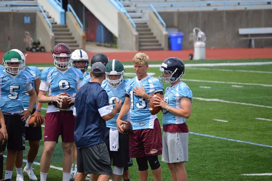 Austin Reed football, St. Augustine High School football, SAHS Jackets football, SAHS football, Columbia University Lions football, Columbia Lions, Quarterback