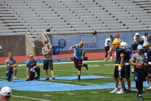 Austin Reed football, St. Augustine High School football, SAHS Jackets football, SAHS football, Columbia University Lions football, Columbia Lions, Quarterback