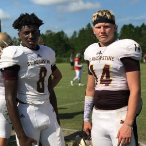 Quarterback Austin Reed, SAHS Jacket football, St. Augsutine High school football, Austin Reed football, Jackets football, SAHS Jackets
