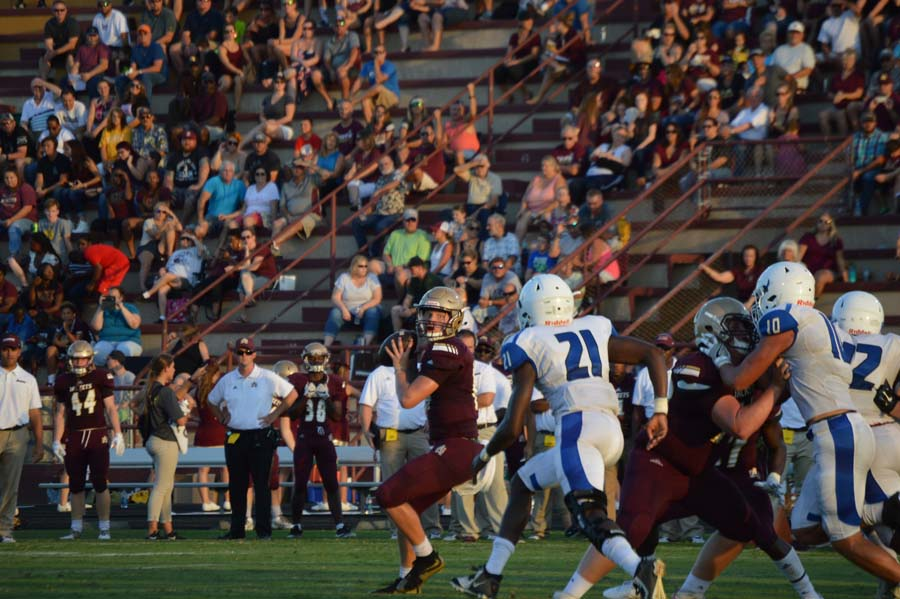Austin Reed football, SAHS Jackets football, St. Augustine High School, SAHS Jackets, Clay High School Blue Devils, quarterback Austin Reed