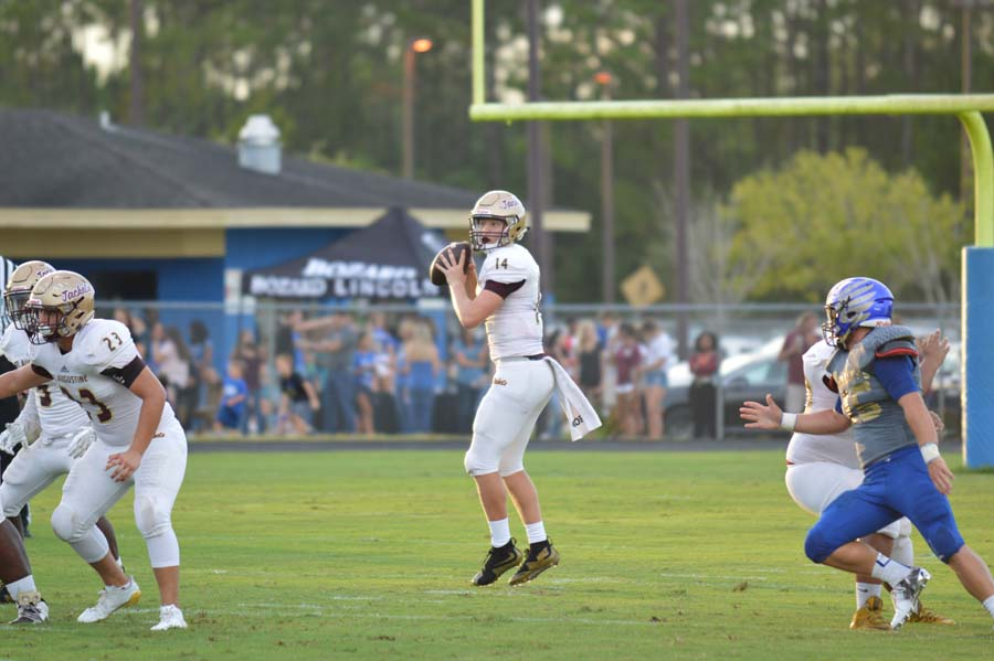 Austin Reed Football, Quarterback Austin Reed, SAHS Jackets football, St. Augustine High School football, Pedro Menendez High School Falcolns, Top High School Quarterback Prospects 2018
