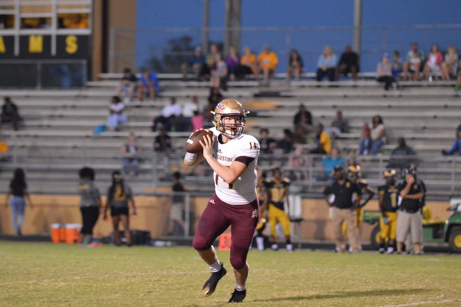 Austin Reed football, SAHS Jacket football, SAHS Jackets, St. Augusitne High School football, Englewood High School, Top high School quarterbacks in Florida