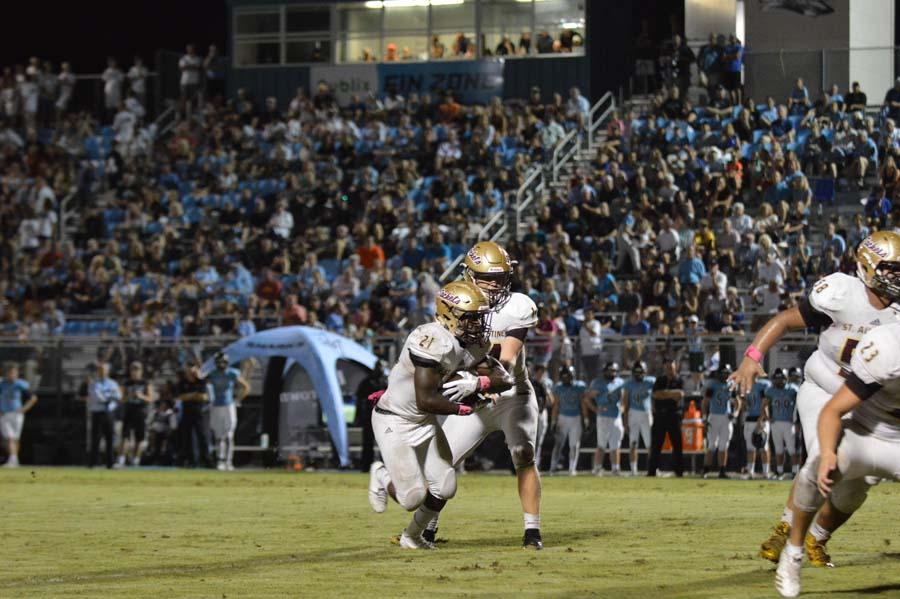 Austin Reed football, St. Augustine High School Football, SAHS football, SAHS Jacket football, Class 6A playoffs