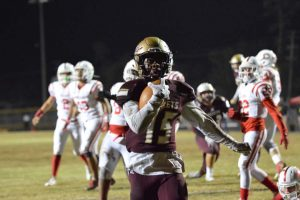 Austin Reed football, SAHS Jacket football, SAHS Yellow Jackets, St. Augustine High School, Crestview HS Bulldogs
