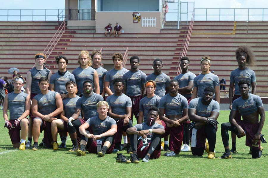 SAHS Jackets Football, St. Augustine High School jackets football, Austin Reed, Quarterback Austin Reed, Yellow Jackets
