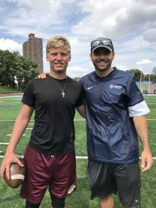 St Augustine High School Quarterback Austin Reed Visits Columbia University Football Camp Austin Reed 14