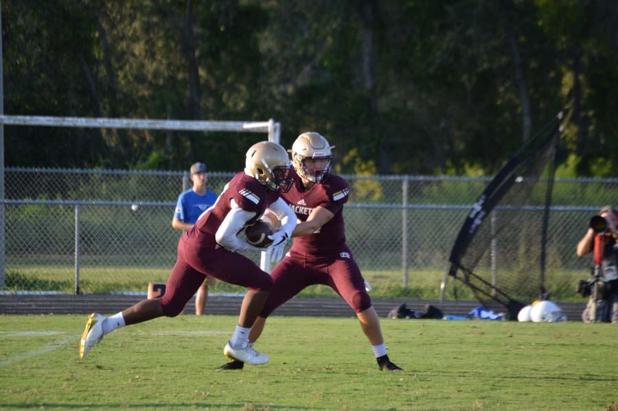 Austin Reed football, SAHS Jackets football, St. Augustine High School, SAHS Jackets, Clay High School Blue Devils, quarterback Austin Reed