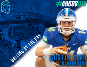 Austin Reed, University of West Florida Football, UWF Football, Argo's football, quarterback Austin Reed, UWF Argos football
